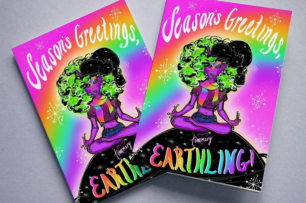 Seasons Greetings, Earthling_2 Card Mock