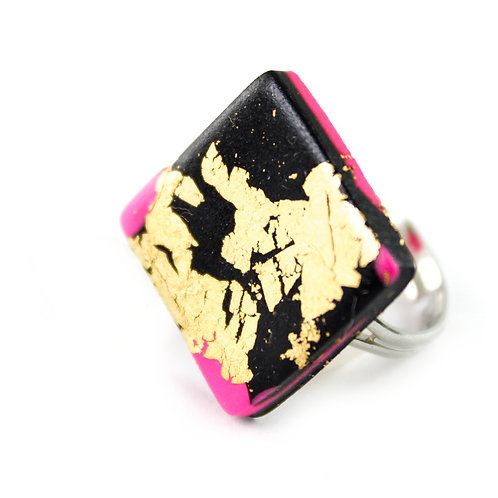 Handmade Clay Ring 12