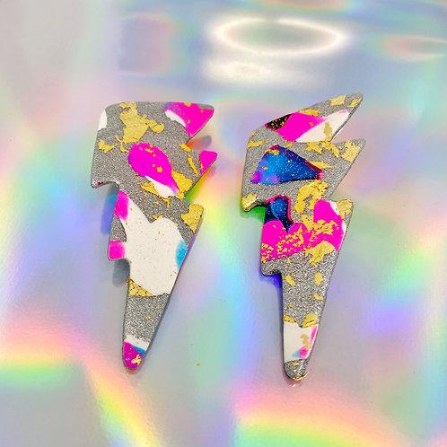 Electrify Handmade Clay Earrings 3
