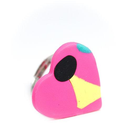 Handmade Clay Ring 14