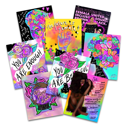 The Future Is Female Assorted Sticker Pack