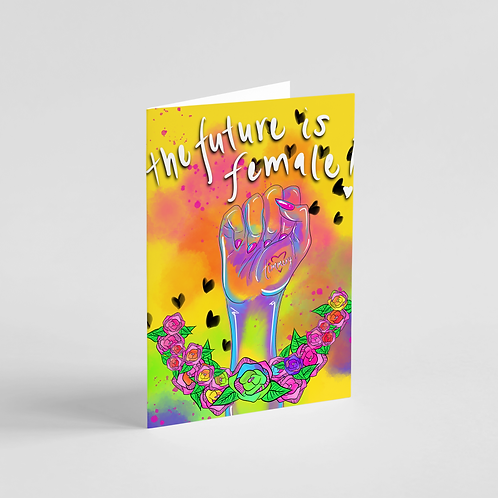 The Future is United Note Card