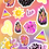 Thumbnail: Leo Goddess Zodiac Sticker Sheet