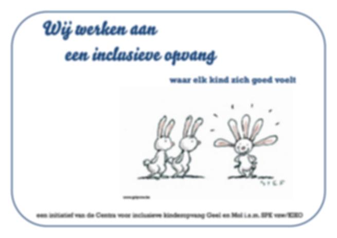 Kinderopvang inclusie