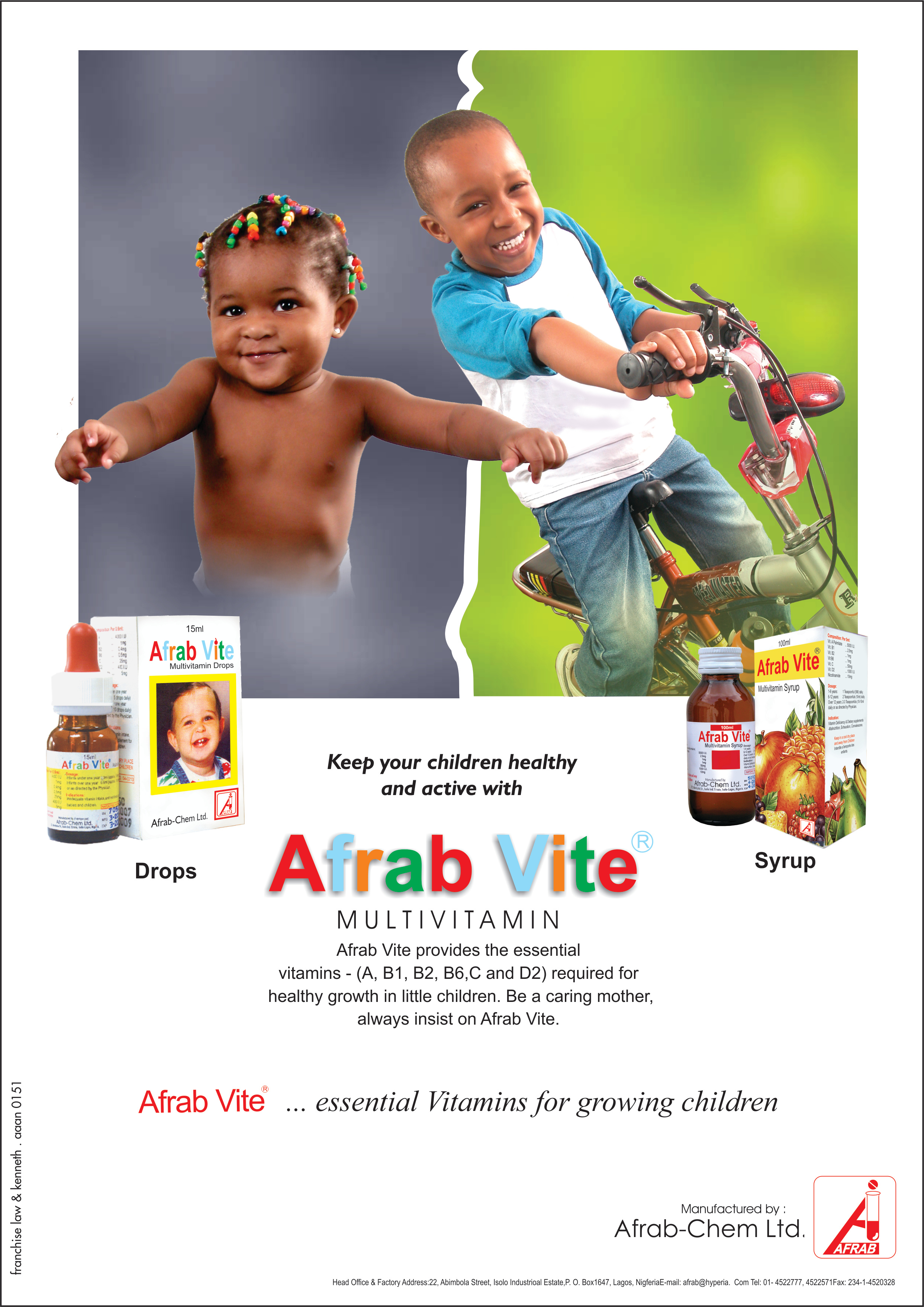 Afrabvite Multivitamin
