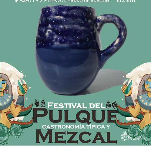 Taza de cerámica Lluvia de Estrellas 017