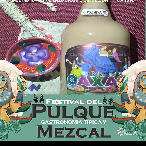 Crema de mezcal de Miahuatlan