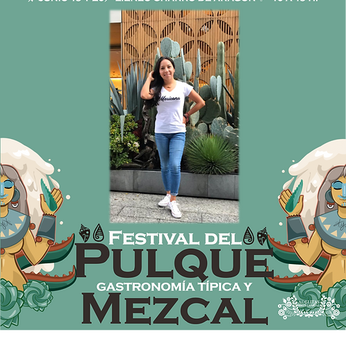 Playera Mexicanos Dama