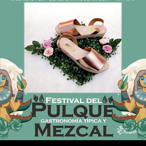 Huarache artesanal