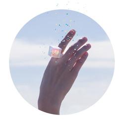 kanten glass ring