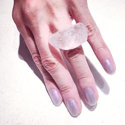 """Ice cube ring"""