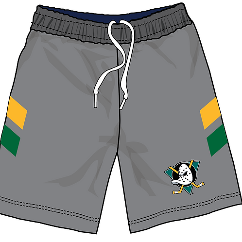JR DUCKS - Performance Running Shorts - Grey