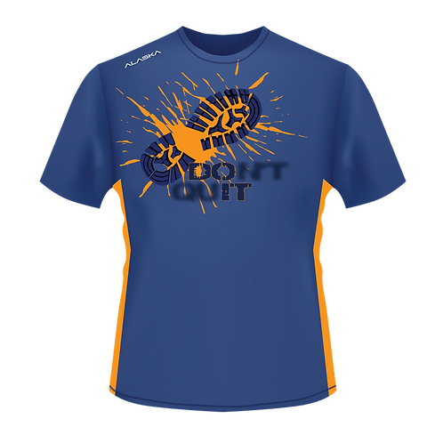 ALASKA STRONG Don't Quit Running Performance Tee