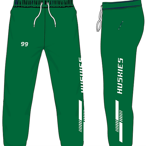 AKS Fleece/Mesh Lined Pants - Custom Delta Huskies