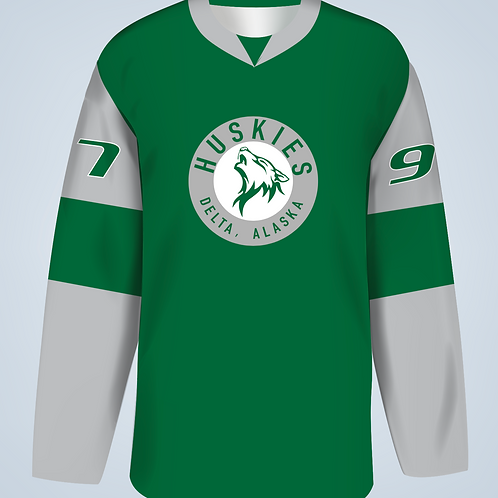 AKS-Custom Delta Huskies Reversible Jersey