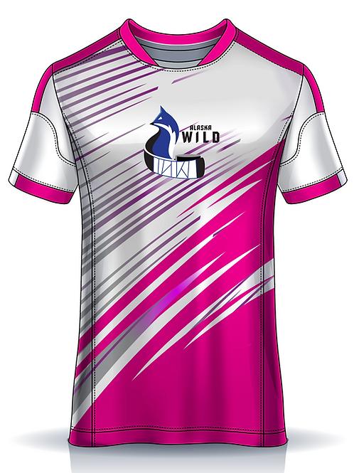 AK Wild 2021 Tee - Pink Splash