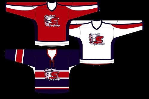 Spokane Jr Chiefs - Full Kit (Premium Twill)