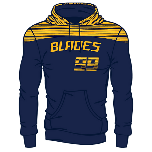 Alaska Strong - Blades Laces Hoodie