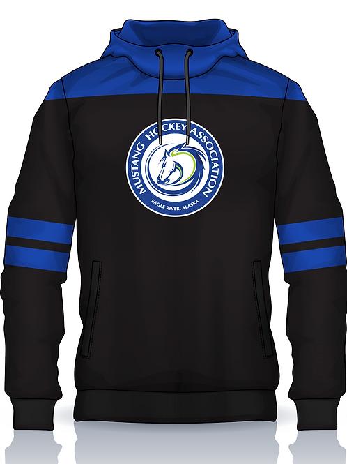 Mustangs Logo Hoodie w Gaiter Option