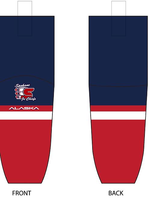 Spokane Jr Chiefs - Socks (Sublimation)