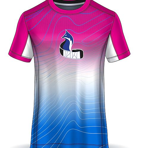 AK Wild 2021 Tee - Pink to Blue Gradient