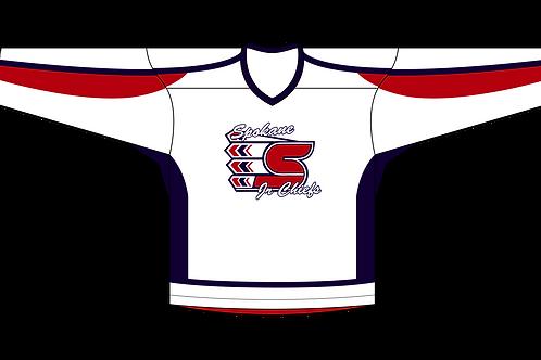 Spokane Jr Chiefs - Away Jersey (Premium Twill)