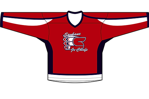 Spokane Jr Chiefs - Home Jersey (Premium Twill)