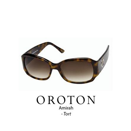 Oroton Amirah Tortoiseshell with brown lens