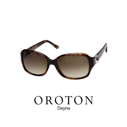 Oroton Dayna Sunglass Tortoiseshell brown