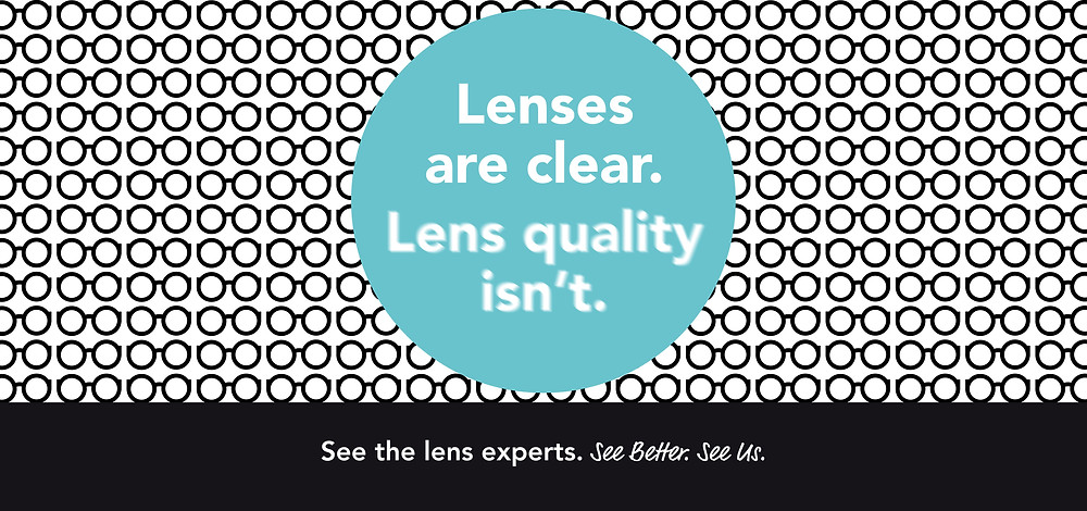 lenses are clear lens quality isn't banner blurry image