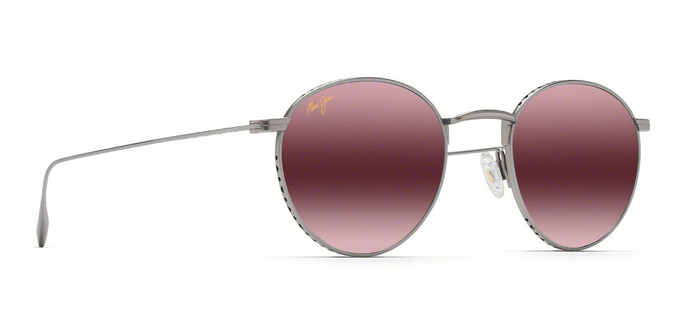 Rose color sunglasses