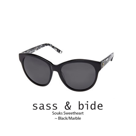 sass and bide souks sweetheart black with marble temple