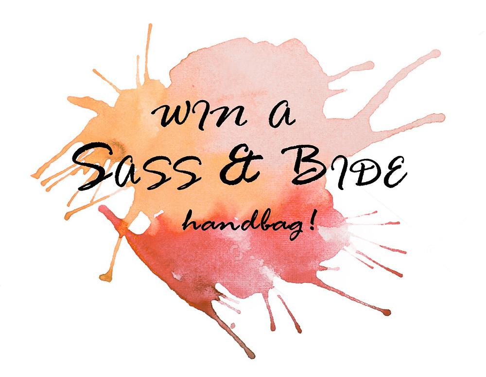 win a sass & bide handbag