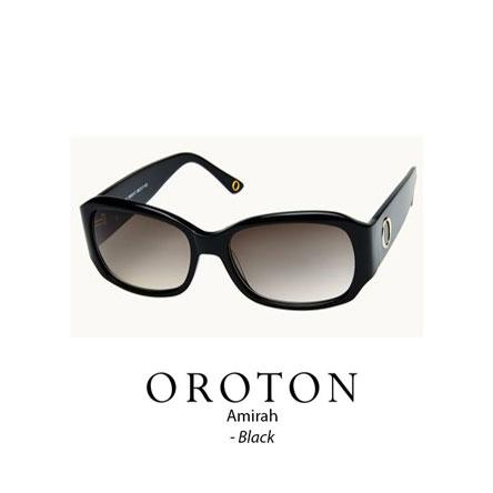 Oroton Amirah Black with Grey lens