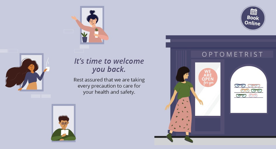 Optometrist Parramatta are open back
