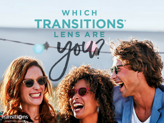 Need one pair of glasses that does it all? Transition Lenses might be for you!