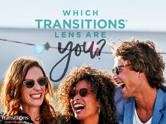 Transition adaptive lenses