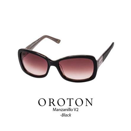 Oroton Manzanillo V2 Black with Rose lens