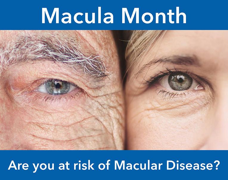 Macula degeneration month