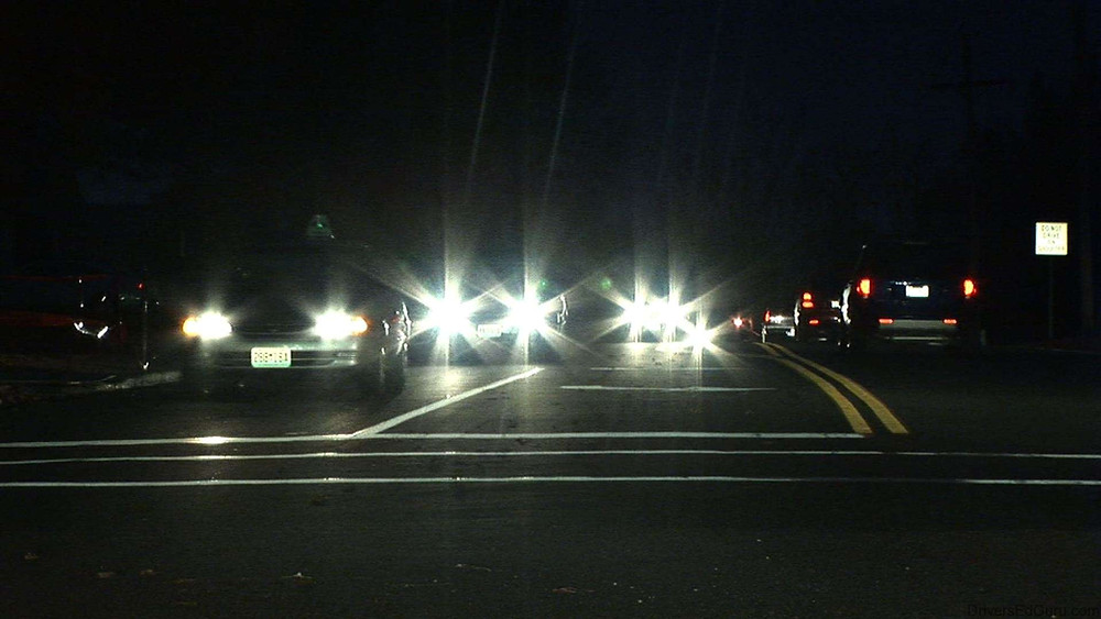 Glare, poor contrast and halos are common night driving symptoms often associated with low quality frames