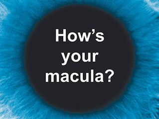 May is Macular Degeneration Awareness Month!