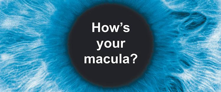 How is your macula image