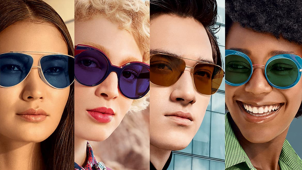 People with different Sunglasses