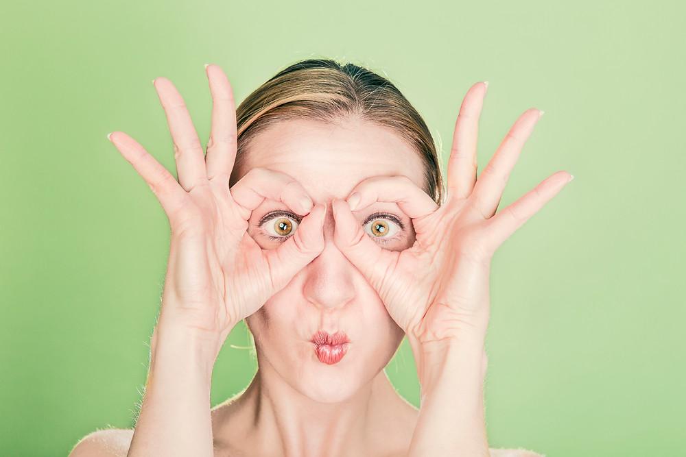 Contact lenses to avoid eyewear