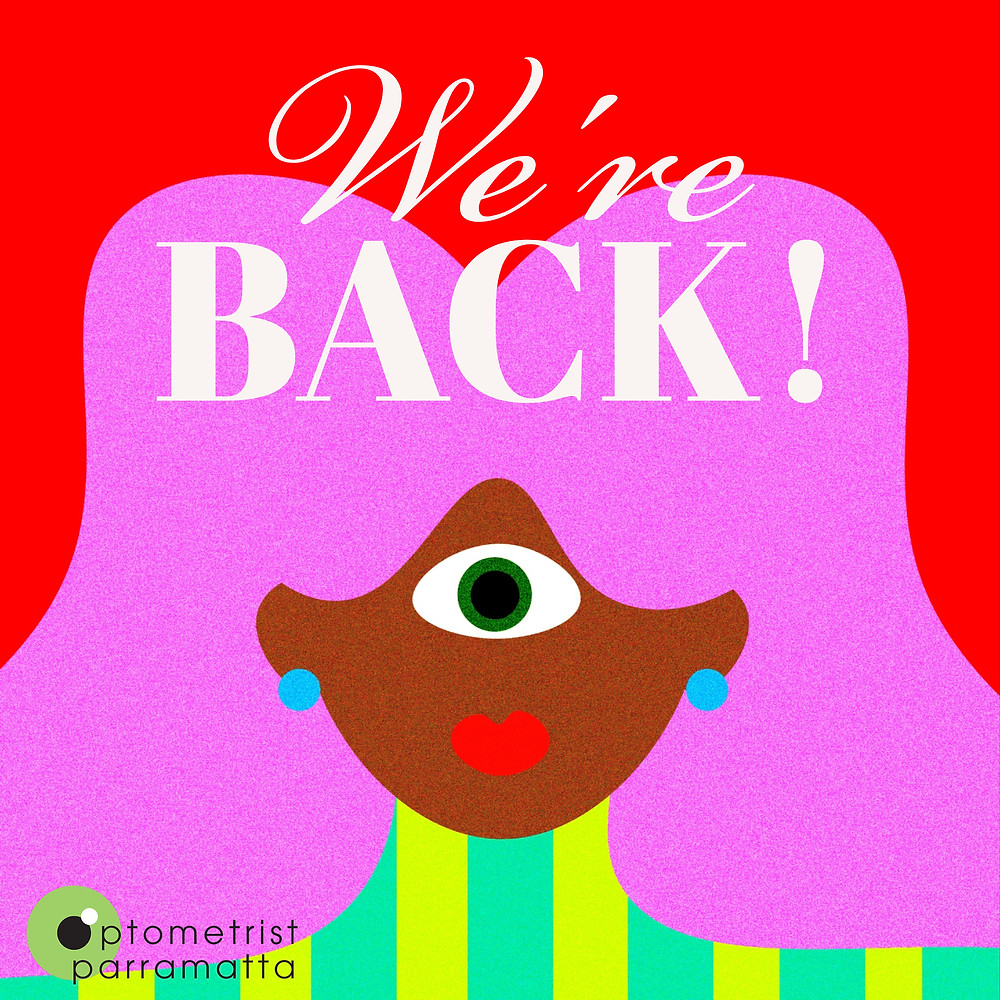 Optometrist Parramatta back to work