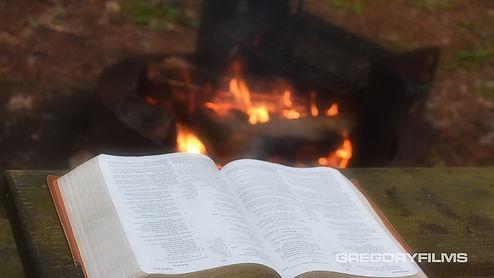 Bible cammpfire