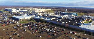 Aerial image of General Motors Lordstown complex