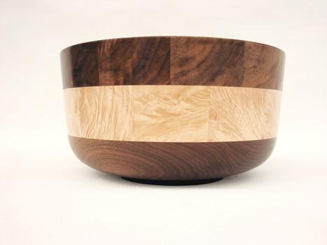 Walnut Maple bowl #505