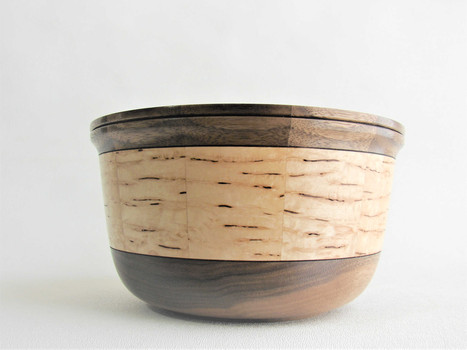 Walnut and Maple Bowl #551