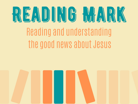 Reading Mark - youth resource